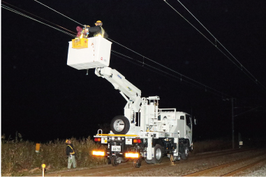 新幹線電気設備工事